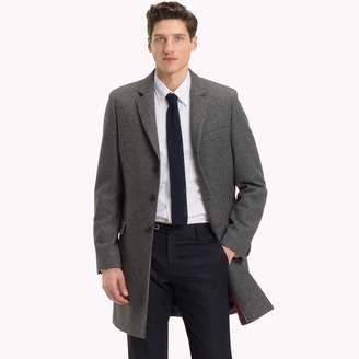 Tommy Hilfiger Italian Wool Overcoat