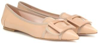 Roger Vivier Soft Gommettine leather ballet flats
