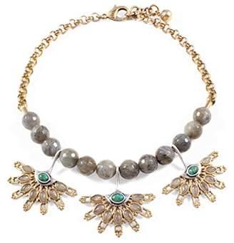 Lulu Frost Women's Majorelle Necklace of Length 40.64-43.18 cm
