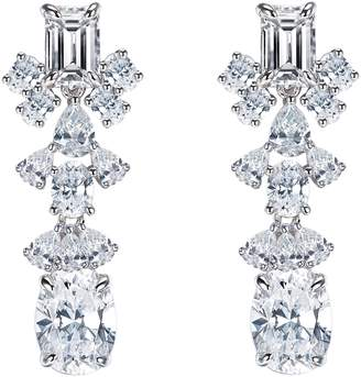 Lafonn Fancy Simulated Diamond Drop Earrings
