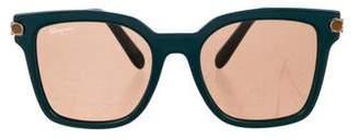 Salvatore Ferragamo Gancino Square Sunglasses
