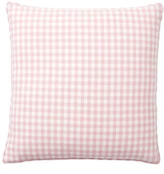 Pottery Barn Piped Gingham Pillow Cover