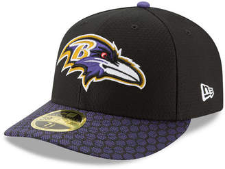 New Era Baltimore Ravens Sideline Low Profile 59FIFTY Fitted Cap