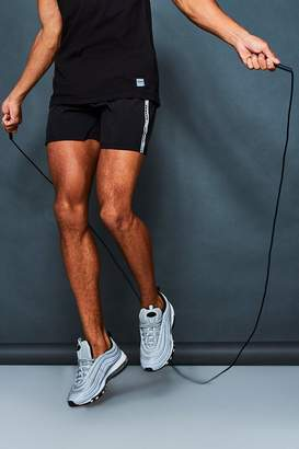 boohoo MAN Active Gym Runner Shorts With Side Tape