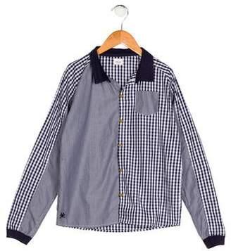 No Added Sugar Boys' Gingham Button-Up Shirt