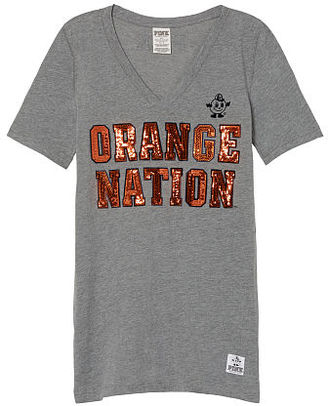Victorias Secret Syracuse University Perfect V-Neck Tee $16.99 thestylecure.com