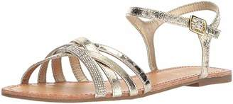 Kenneth Cole Reaction Women's Just New Criss Cross Ankle Straps Flat Sandal