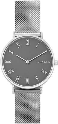 Skagen Slim Hald Mesh Strap Watch, 34mm