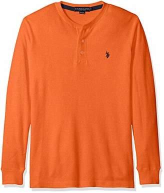 U.S. Polo Assn. Men's Long Sleeve Thermal Henley