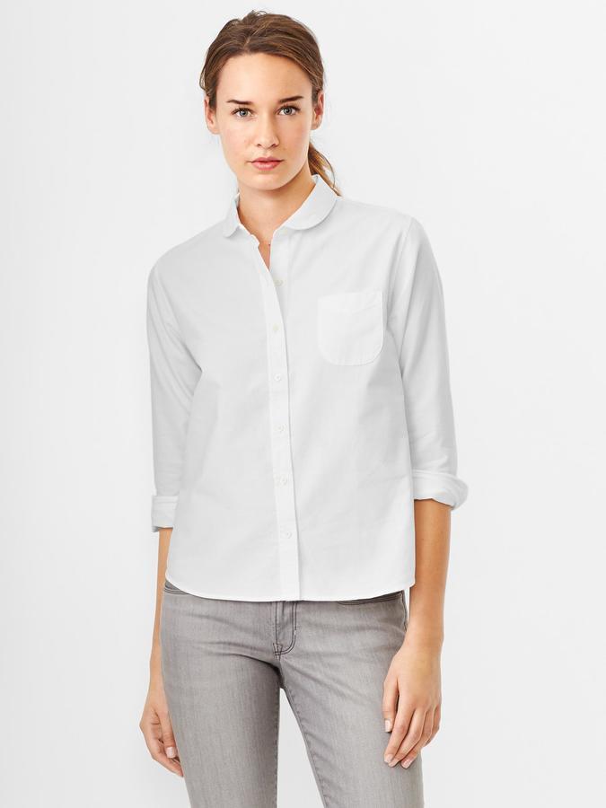 Gap Peter pan oxford shirt