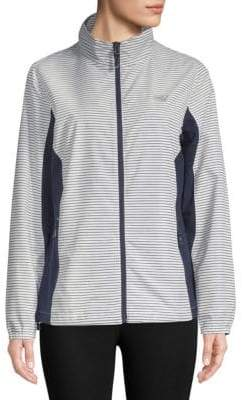 New Balance Striped Full-Zip Jacket