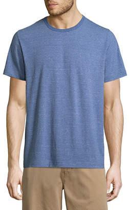 ST. JOHN'S BAY Short Sleeve Crew Neck T-Shirt-Slim