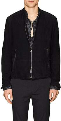 John Varvatos Men's Suede Jacket