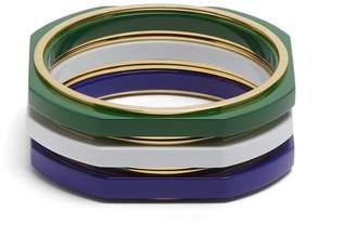OBJET SINGULIER Set of three bracelets