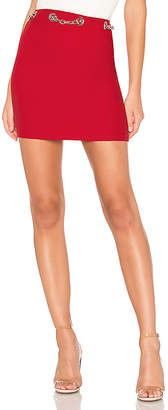 by the way. Charlotte Chain Link Mini Skirt