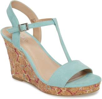 Charles by Charles David Laney Embroidered Wedge Sandal