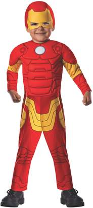 Rubie's Costume Co Costume Baby Boy's Marvel Classics Avengers Muscle Chest Iron Man