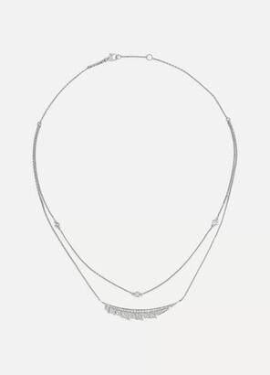 Stephen Webster Magnipheasant 18-karat White Gold Diamond Necklace - one size