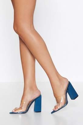 Nasty Gal Clear the Way Heel