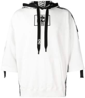 Dolce & Gabbana 3/4 length sleeved hoodie