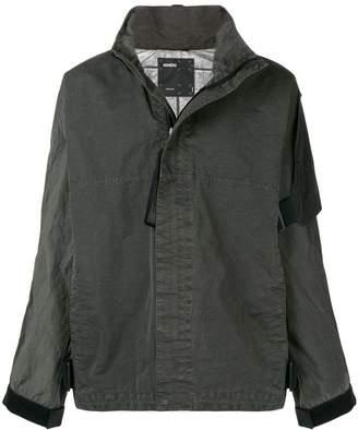 Nemen Guard longsleeve zipped jacket £870