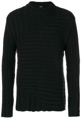 Jil Sander knitted ribbed jumper