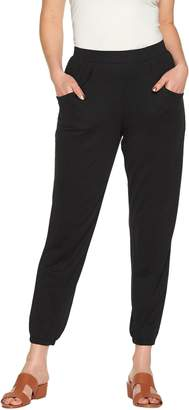 Halston H By H by Regular Ankle Length Jogger Pants w/ Seam Detail