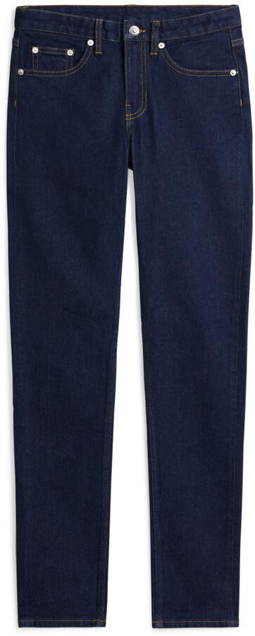 Arket Slim Rinsed Indigo Jeans