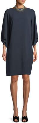 Lafayette 148 New York Wynona Dress in Finesse Crepe