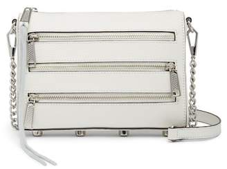 Rebecca Minkoff Panama Mini 5 Zip Leather Crossbody