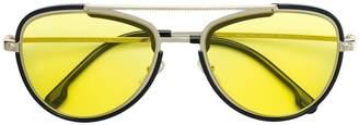 Versace Eyewear aviator style sunglasses