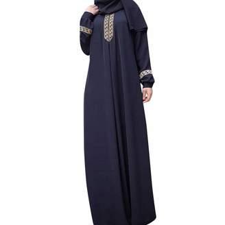 0b731885865 DongDong ✫Abaya Jilbab Muslim Maxi Dress