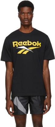 Vector Reebok Classics Black and Yellow T-Shirt