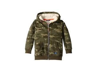 Joules Kids Sherpa Lined Zip Through Hooded Sweatshirt (Toddler/Little Kids/Big Kids)