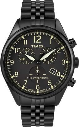 Timex R) Waterbury Chronograph Bracelet Watch, 42mm