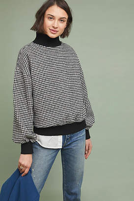 J.o.a. Houndstooth Turtleneck
