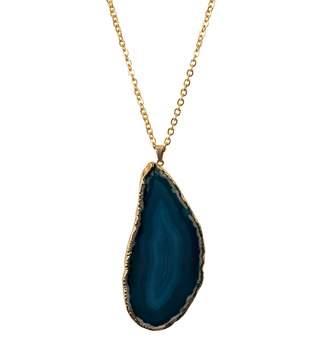 Lani Tiana Jewel Blue Agate Necklace