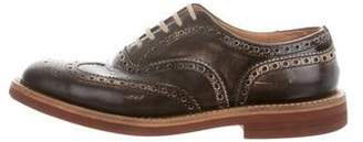 Church's Distressed Leather Brogues