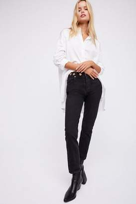 A Gold E Agolde AGOLDE Jamie High-Rise Classic Jeans