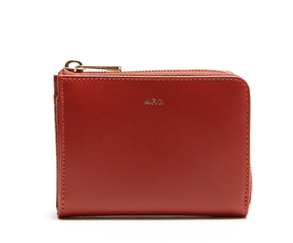 A.P.C. Julian zip-around leather coin purse $176 thestylecure.com