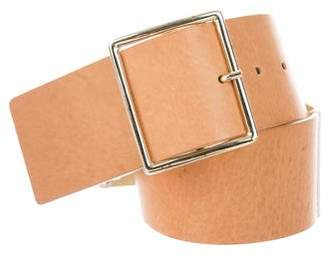 Alice + Olivia Metallic Buckle Belt