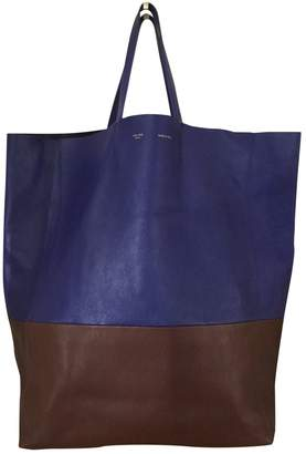 Celine All Soft Blue Leather Handbag