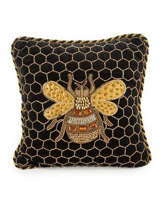 Mackenzie Childs MacKenzie-Childs Queen Bee Pillow