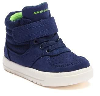 Skechers Lil Lad - Cozy Street High-Top Sneaker (Toddler & Little Kid)