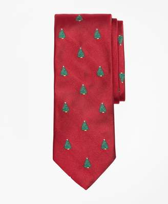 Brooks Brothers Christmas Tree Tie