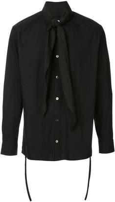 SASQUATCHfabrix. collar knot shirt