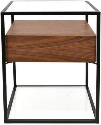 Calibre Furniture Mawson Side Table Walnut