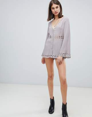 Religion ultimate playsuit with cut out details