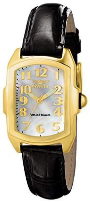 """Invicta Women's 13834""""Lupah"""" 18k Gold-Plated Stainless Steel Mother-Of-Pearl Dial Watch"""