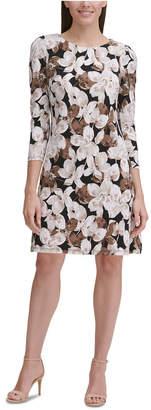 Tommy Hilfiger Floral-Print Jersey Dress